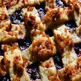 Green Blueberry Pie