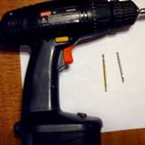 Cordless drill and bits