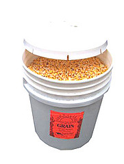 Bucket of stove corn