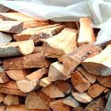 Seasoned hardwood keep covered